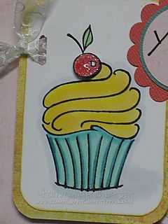 Taylor's Cupcake challenge close-up