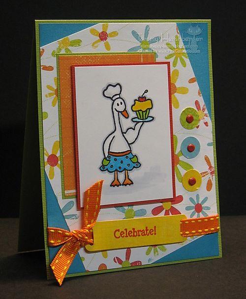 Cupcake Goose