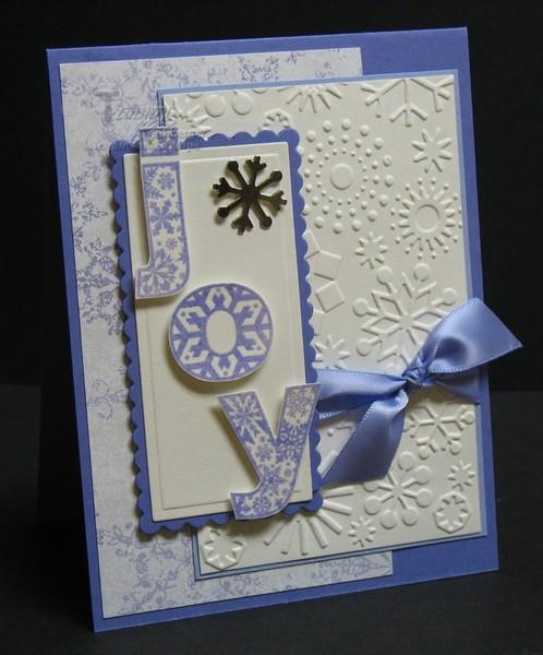 Snow Flurry Joy card