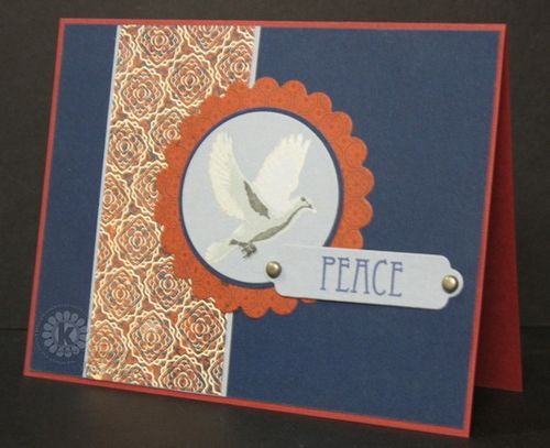 Dove Peace card