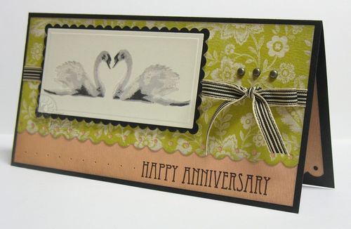 Anniversary card for Mom & Keith